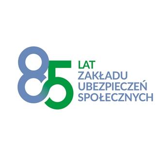 logo 85-lat ZUS
