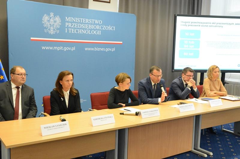 Konferencja dotycząca projektu e-akta