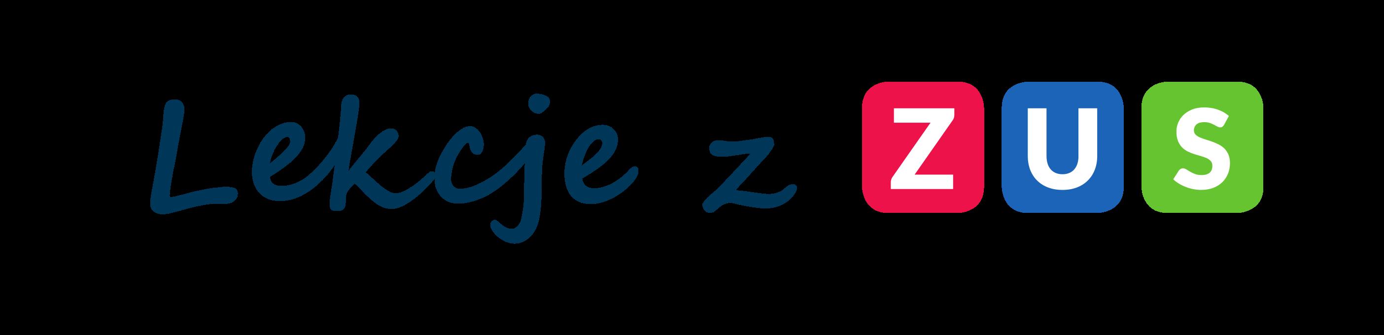 logo projektu Lekcje z ZUS